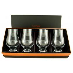 Coffret Prestige - Glencairn officiel verre de Whisky - Lot de 4