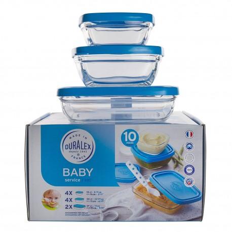 Ensemble 10 pièces Baby Set Duralex FreshBox