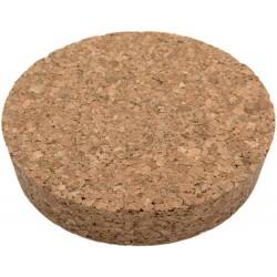 Rekean - Bouchon en liège pour Bocal - 100% Naturel - Lot de 6