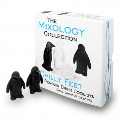 Glaçons Chilly Feet Penguin (X18) - Réutilisables