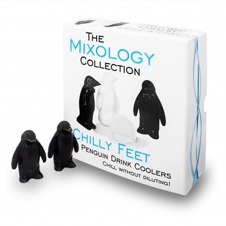 Glaçons Chilly Feet Penguin (X18) - Réutilisables