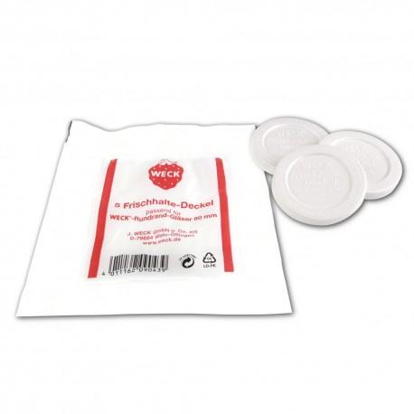 Couvercles de conservation pour bocal Weck® diamètre 60 mm