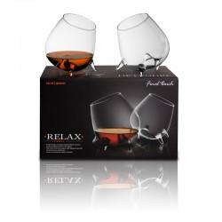 Relax verre de cognac- ensemble de 2 verres