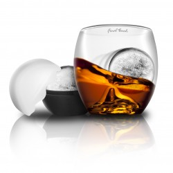Verre whisky 'on the rocks' - final touch